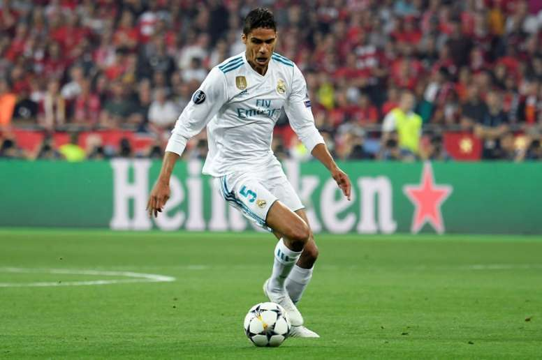 Varane is again a target for Jose. AFP