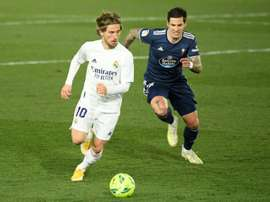 Modric also shines defensively. AFP