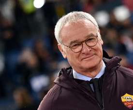 Claudio Ranieri lors de la victoire 2-1 à domicile face à Empoli. AFP