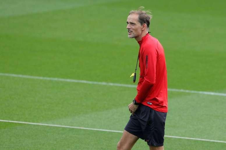 El entrenador del PSG, un viejo deseo de dos gigantes europeos. AFP