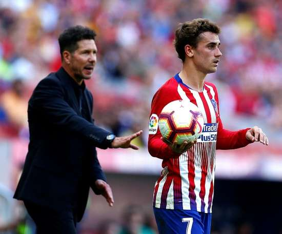 Simeone has been at Atletico since 2011. EFE