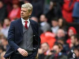 Wenger había sido relacionado con un club chino del que no se reveló el nombre. AFP