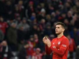 Lucas Hernández ferme la porte au Real Madrid. afp