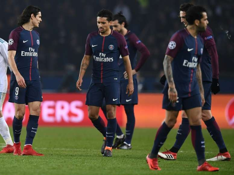 PSG were defeated at home. AFP
