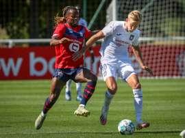 Lille monte en puissance et bat Anderlecht 2 à 0. AFP