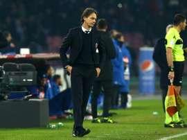 Filippo Inzaghi en charge de Bologne. AFP