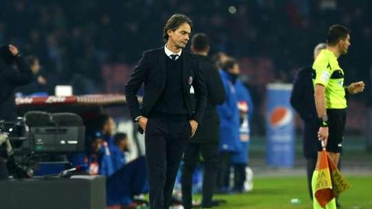 La Lazio veut blinder Inzaghi. AFP