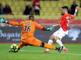 O Monaco bateu o Lille por 2-1. AFP
