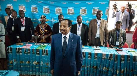 Paul Biya prend acte du retrait de la CAN 2019. AFP