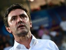 Le sélectionneur des Bleuets, Sylvain Ripoll. AFP