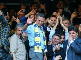 El Alemannia Aachen podría ser equipo satélite del Fenerbahçe. AFP