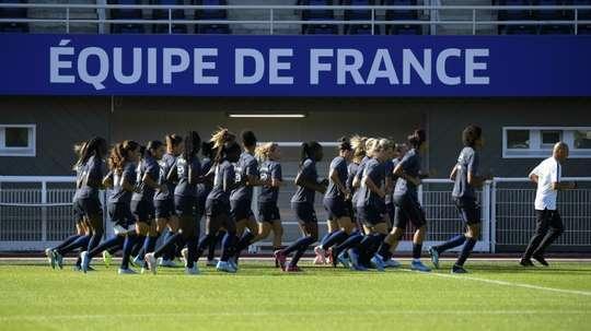 Après le Mondial, les Bleues en opération déminage. AFP