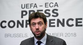 'COPE': cómo y cuándo se jugaría la 'nueva Champions'. AFP
