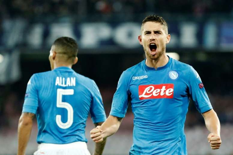 Jorginho is close to a move. AFP