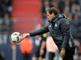 L'entraîneur de L'Olympique de Marseille Rudi Garcia. AFP