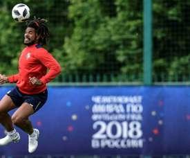 Panamá continúa preparando su debut. AFP
