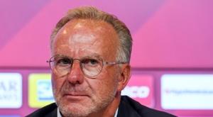 Rummenigge enviou uma clara mensagem a seus jogadores. AFP