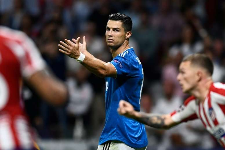 Cristiano has not yet scored a free-kick goal for Juventus. AFP