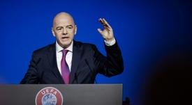 Entre FIFA et UEFA, la guerre du calendrier commence. AFP