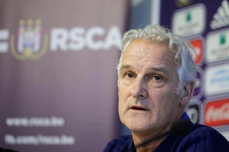 Anderlecht se sépare de son entraîneur. AFP