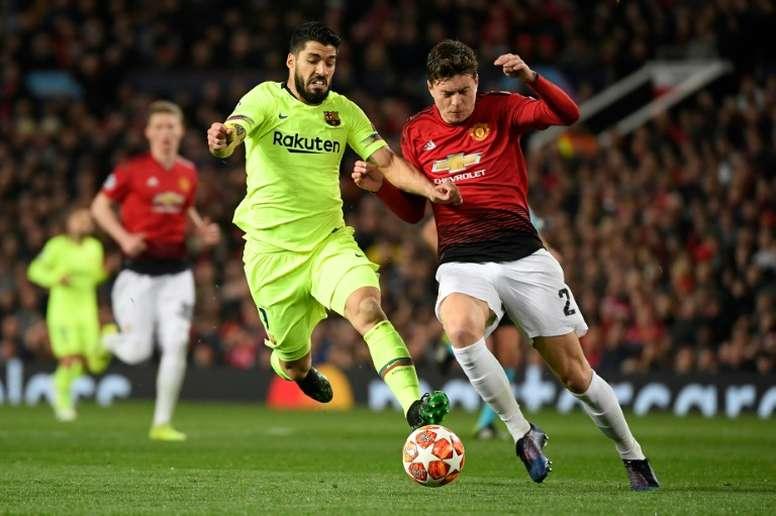El United ultima la renovación de Lindelöf. AFP