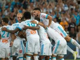 Triunfo confortável do Marseille no campeonato. AFP