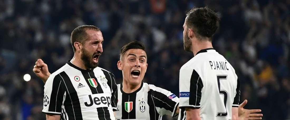 Juventus bate o Génova por 4-0, na Serie A. AFP