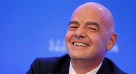 Le président de la Fifa Gianni Infantino. AFP