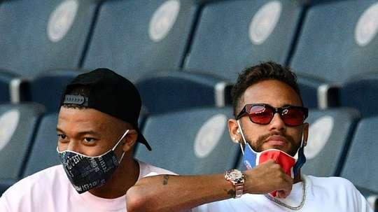 Le PSG ne prendra pas de risques pour Mbappé. AFP
