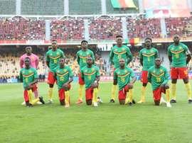 le Cameroun et le Mali se neutralisent 1-1. afp