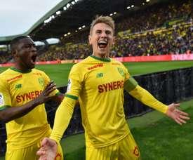 Les compos probables du match de Ligue 1 entre Nantes et Amiens. AFP
