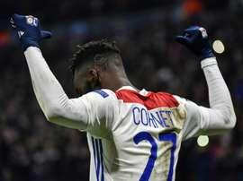 Lyon sans Maxwell Cornet contre City ? AFP