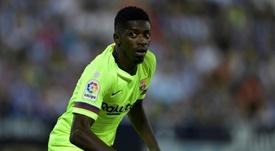 Dembélé vive la misma situación que la temporada pasada. AFP