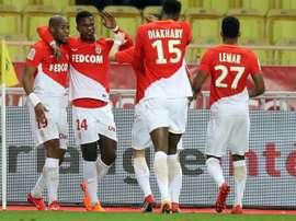 El Mónaco venció al Dijon por 4-0. AFP
