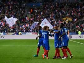 L'équipe de France joue sa qualification. AFP