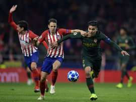 Falcao missed a penalty against his former team. AFP