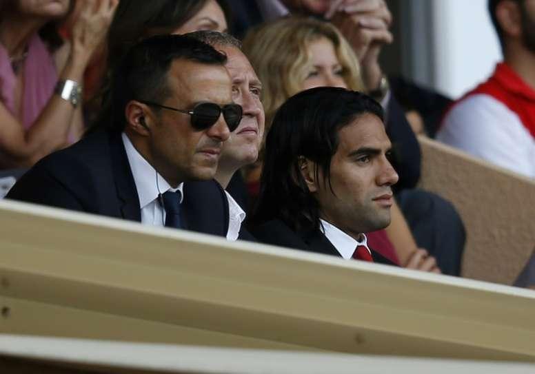 Jorge Mendes podrá rearmar al Atlético con varios posibles fichajes. AFP/Archivo