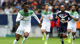 El talento francés de 20 años del Saint-Étienne busca estrenarse. AFP