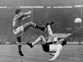 Mort de l'Anglais Nobby Stiles, vainqueur de la Coupe du monde 1966. afp