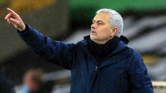 Mou remet les siens sur les rails pour Liverpool. AFP
