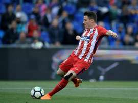Gameiro set to leave Atletico. AFP