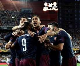 Cronaca di Valencia-Arsenal. AFP
