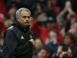 El United ganó por 1-0. AFP