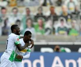 Doucouré a fait ses débuts avec M'Gladbach. AFP