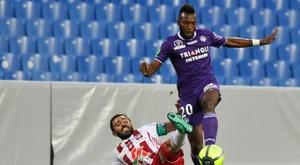 El Toulouse se queda en la Ligue 1. AFP