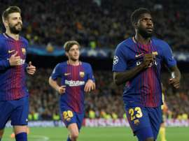 Les cinq destinations possibles de Samuel Umtiti. afp