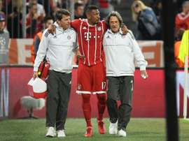 Boateng looks set to be sidelined for a while. AFP