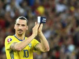 Muchos jugadores destacados dicen adiós a la Eurocopa. AFP