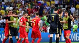 Bélgica llevaba 32 años sin llegar a semifinales. AFP