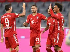 Bayern Munich thumped Schalke on Friday night. AFP